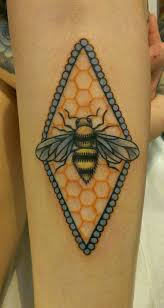 22 best best bee tattoos in the world images on pinterest bees