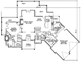 craftsman style house plan 3 beds 3 50 baths 2495 sq ft plan 5 147