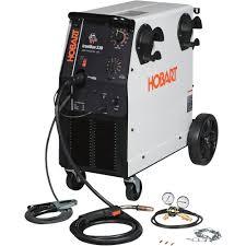 free shipping u2014 hobart ironman 230 flux core mig welder u2014 230v