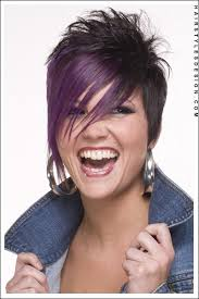 ladies hairstyles short on top longer at back short hairstyles emo styled hair long side swept bangs with