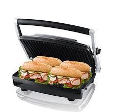 ZZ SM303 Burger Grill Sandwich Maker Panini Press Steaks Griller or