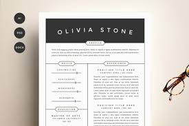 Fashion Design Resume Sample by Resume Template 4 Pack Cv Template By Refinery Resume Co On