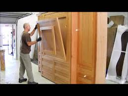murphy bed with table went to portland youtube