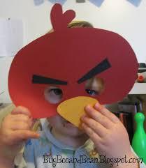 bug boo and bean angry bird masks printable