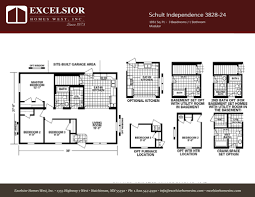 schult independence 3828 24 excelsior homes west inc