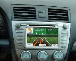 gps toyota camry carshow toyota camry factory look multimedia navigation gps 2007