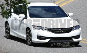 exclusive our little eye spies the 2016 honda accord coupe