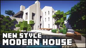 Modernhouse by Minecraft New Style Modern House Youtube