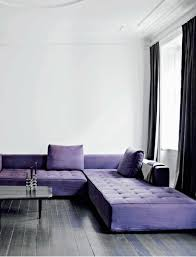 canape violet 80 idées d intérieur pour associer la couleur prune