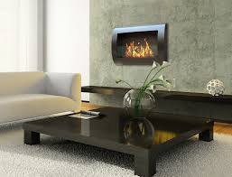 decorating traditional family room design with ethanol fireplace