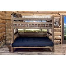 Futon Bunk Bed With Mattress Included Wood Futon Bunk Bed With Mattress Included