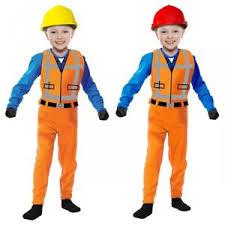 construction worker costume construction worker costume kids emmet fancy dress ebay