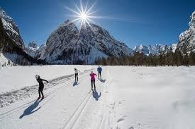 cross country skiing villa belvedere