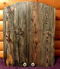 Dart Board Cabinet Plans Dartboard Cabinet From Pallets 7 Steps With Pictures