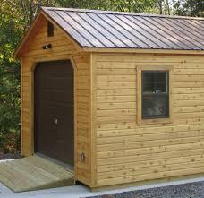 14x20 garage cedar garage byler barns 14x20 cedar garage