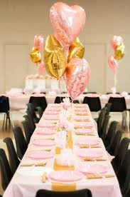 party table ballerina theme pink and gold birthday party ideas ballerina
