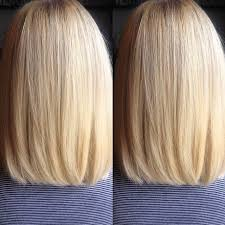 long hair in front shoulder length in back medium bob hairstyles front and back view