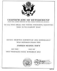 navy retirement certificate template imts2010 info