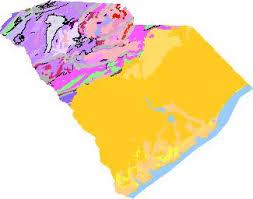 map of sc south carolina geologic map data