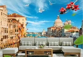 chambre venise 3d chambre papier peint peinture murale personnalisée non tissé mur