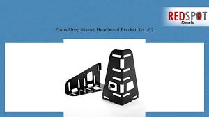 universal headboard brackets cheap zinus sleep master headboard bracket set of 2 youtube