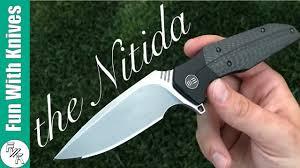 Aesthetic Knives Unboxing We Knives Nitida 707f Youtube