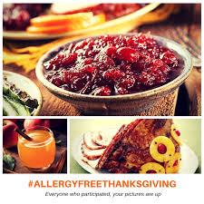 allergyfreethanksgiving in social media