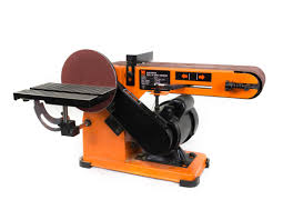 wen 4 x 36 inch belt and 6 inch disc sander with steel base