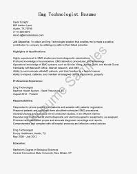 Resume Sample Lab Technician by Aaaaeroincus Stunning Best Resume Examples For Your Job Search