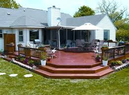 wooden patio set designs decks and patios ideas floating decks