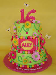 whimsical sweet 16 birthday cake my newest favorite ally u2026 flickr