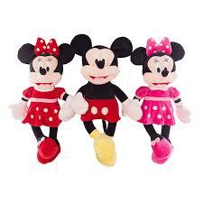 shop 1pc 40cm cute mickey mouse minnie mouse plush toys
