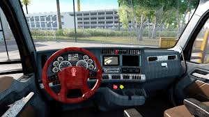 new kenworths new colors interior kenworth t680 for american truck simulator