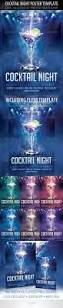 cocktail night poster template u0026 cocktail night flyer flyer