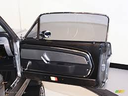 Black 1967 Mustang 1967 Ford Mustang Shelby G T 500 Eleanor Fastback Black Door Panel