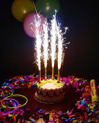 party candles fireworks sparkling candles for birthday cake wedding any party free
