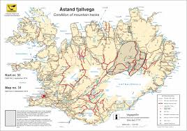 iceland map driving road in iceland go iceland