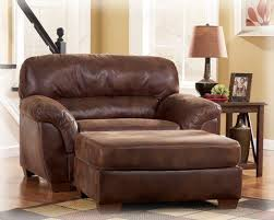 Best  Leather Chair With Ottoman Ideas On Pinterest Tv Above - Leather chairs living room