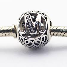 diy pandora charm bracelet images Fits pandora charms bracelet diy beads vintage m with clear cubic jpg