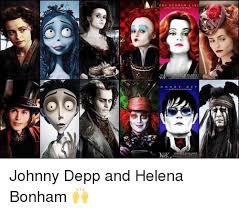 Johnny Depp Meme - ena son ham vr johnny depp and helena bonham johnny depp meme