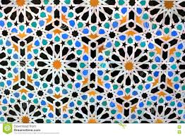 Moroccan Pattern Art Moroccan Wall by Moroccan Mosaic Tiles On Wall Stock Image Image 74574283