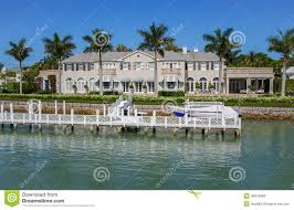 Naples Florida Luxury Homes by Waterside Home In Naples Florida Editorial Stock Photo Image