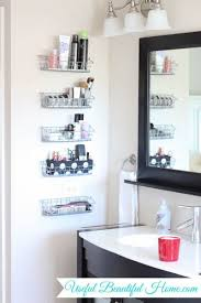 how to organize small bathroom cabinets ways to organize a bathroom without drawers and cabinets