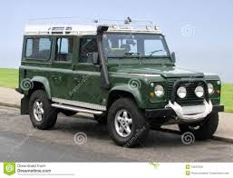 2000 land rover green land rover jeep county station wagon stock photo image 15836428