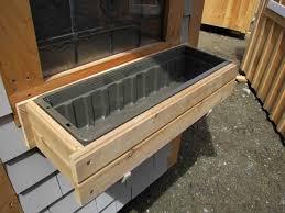 cedar window boxes flower boxes for windows jamaica cottage shop