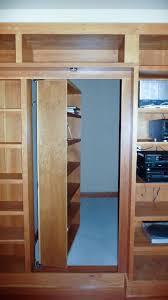 Bookcase Clips Cabinet Hidden Panel Door Hidden Door Paneling Wall Compartment