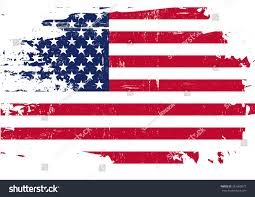 Us Flags Com Scratched Us Flag American Flag Grunge Stock Vector 261360077