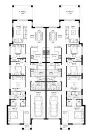 new home builders redleaf 40 duplex storey home designs