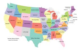 Empty United States Map by United States Map Boston