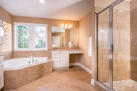 the master bathroom of the albany floor plan by ball homes the